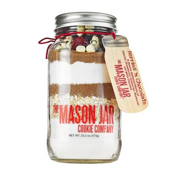 Mason Jar Cookie Company 20.2-oz. Berries & Chocolate Cookie Mix In a Jar