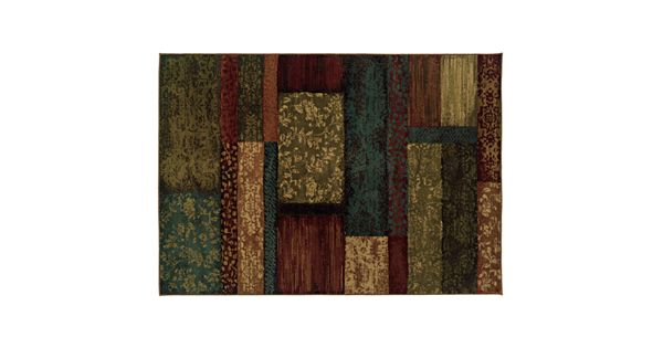 stylehaven elliott brown geometric rug 87756