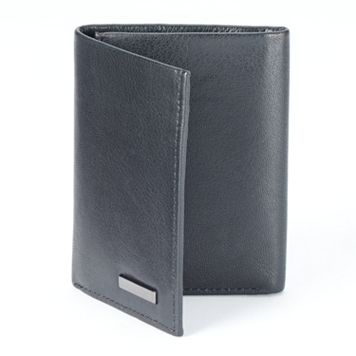 Apt. 9® RFID-Blocking Leather Trifold Wallet - Men