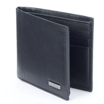 Apt. 9® Traveler RFID-Blocking Leather Bifold Wallet - Men