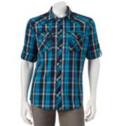 Helix™ Plaid Button-Down Shirt - Men