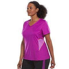 Plus Size Tek Gear® Mesh Back Workout Tee