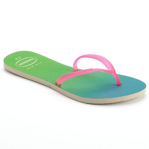 2cc60a069 havaianas Flat Sunset Women's Ombre Flip-Flops