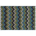 StyleHaven River Geometric Chevron Indoor Outdoor Rug