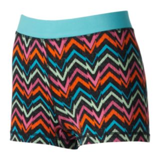 One Step Up Graphic Print Hot Shorts - Juniors