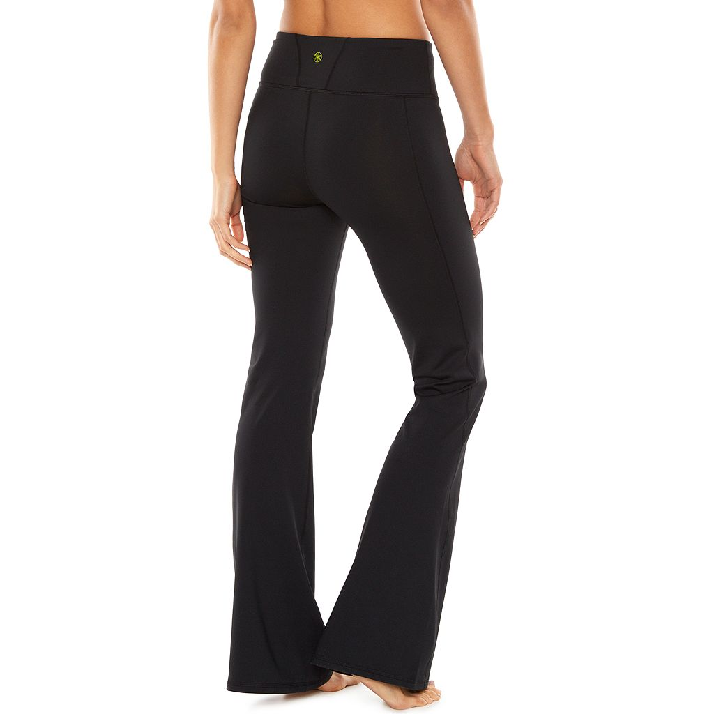 Women's Gaiam Zen Bootcut Yoga Pants