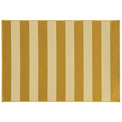 StyleHaven River Geometric Striped Indoor Outdoor Rug