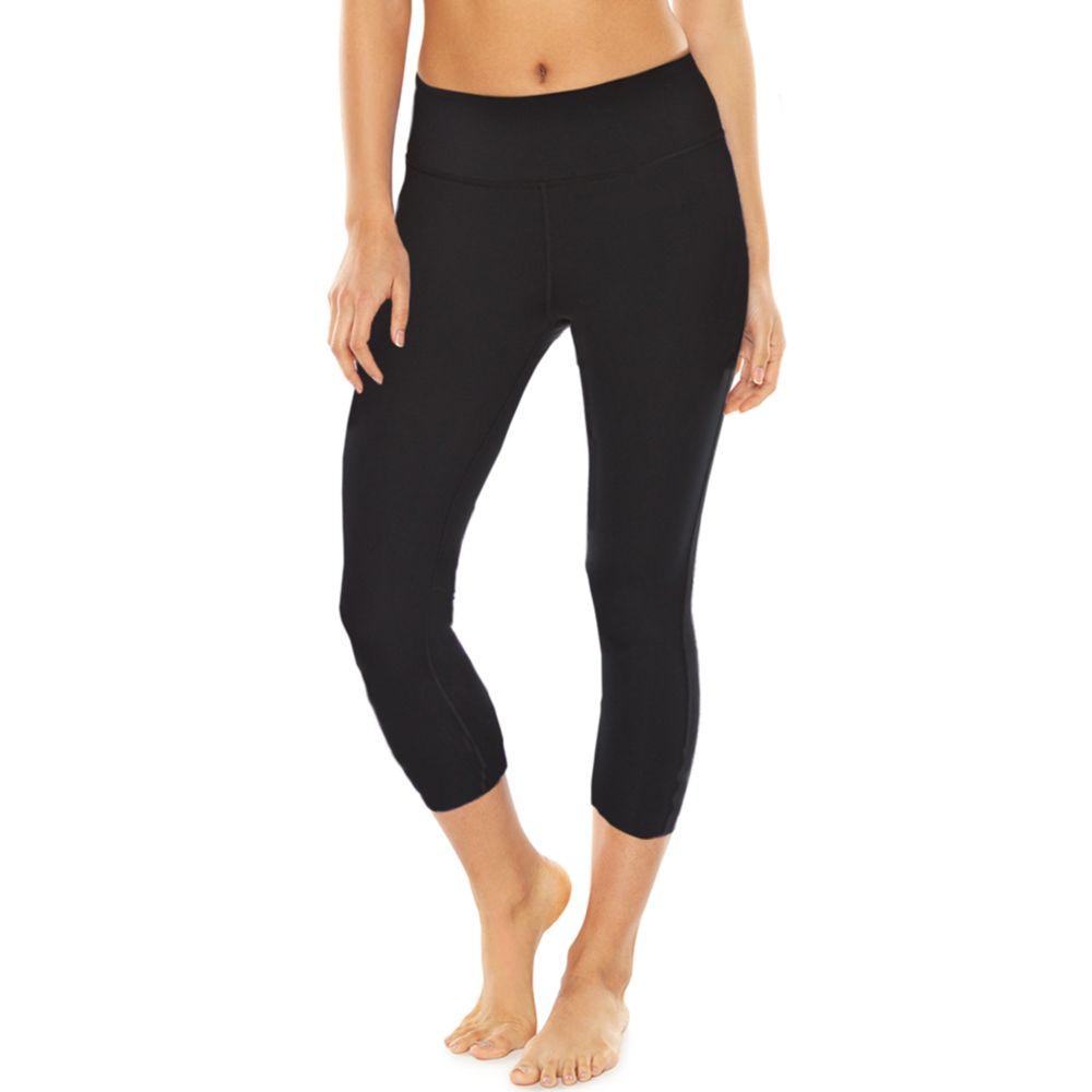 Gaiam Om Yoga Moisture-Wicking Capri Leggings