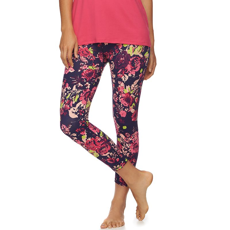 Women's Gaiam Om Breathe Capri Yoga Leggings