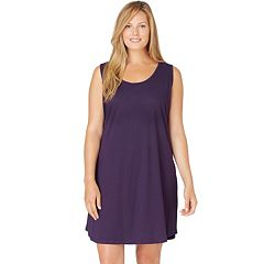Plus Size Jockey Modern Cotton Knit Chemise