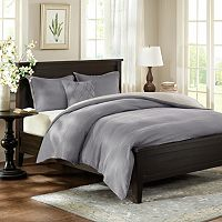 HH Linen 3-pc. Reversible Duvet Cover Set - Full / Queen