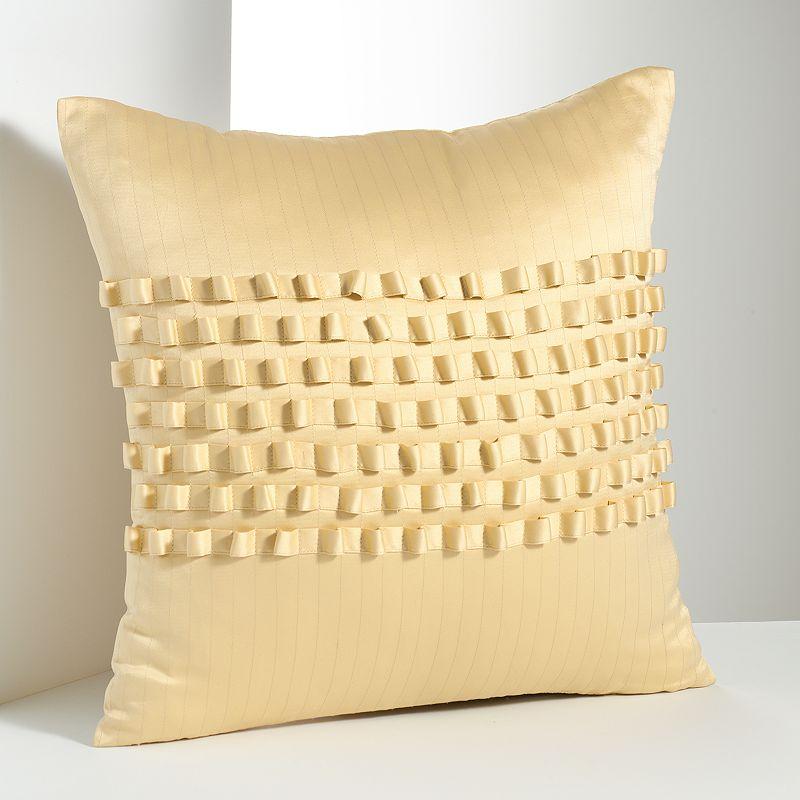 Yellow Zipper Pillow Kohl s