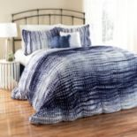 Lush Decor Pebble Creek Tie-Dye 3-pc. Duvet Cover Set