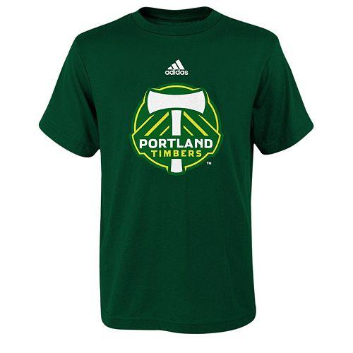 adidas Portland Timbers Primary Logo Tee - Boys 8-20