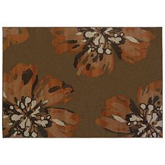 StyleHaven Anja Brown Floral Rug