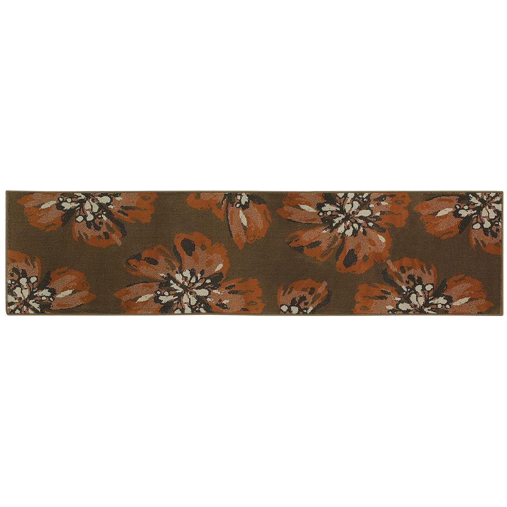 StyleHaven Anja Brown Floral Rug