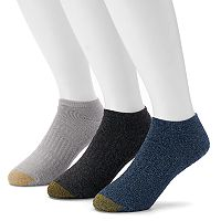 Men's GOLDTOE 3-pack Arch 360 Summit Quarter Socks
