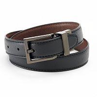 IZOD Textured Reversible Leather Belt - Boys