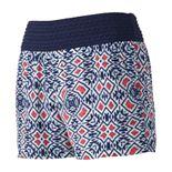 Juniors' Joe B Crochet Soft Shortie Shorts