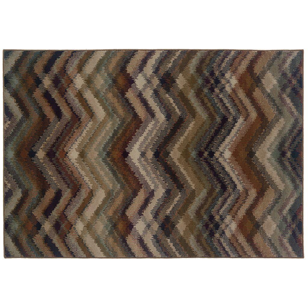 Oriental Weavers Adrienne Chevron Rug
