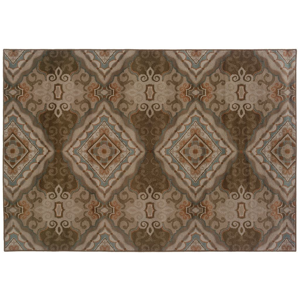Oriental Weavers Adrienne Medallion Geometric Rug