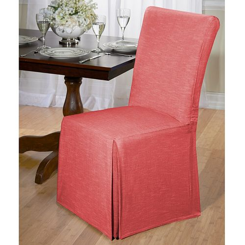 Madison Chambray Dining Room Chair Slipcover by Madison
