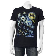 Men's Batman Starry Night Tee