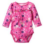Jumping Beans® Ruffle Bodysuit - Baby Girl