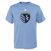 adidas Sporting Kansas City Primary Logo Tee - Boys 8-20