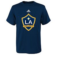 adidas Los Angeles Galaxy Primary Logo Tee - Boys 8-20