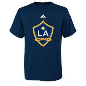 adidas Los Angeles Galaxy Primary Logo Tee - Boys 8-20