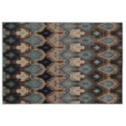 StyleHaven Anja Blue Ikat Rug