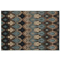 Oriental Weavers Adrienne Blue Ikat Rug