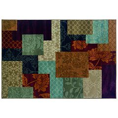 StyleHaven Anja Floral Block Rug