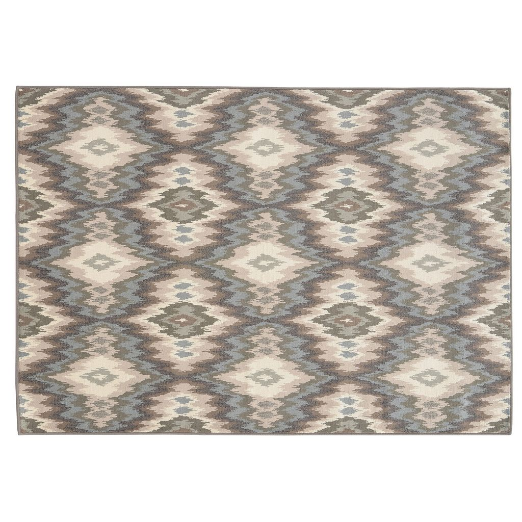 StyleHaven Brenna Abstract Ikat Rug