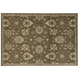 StyleHaven Brenna Brown Floral Rug