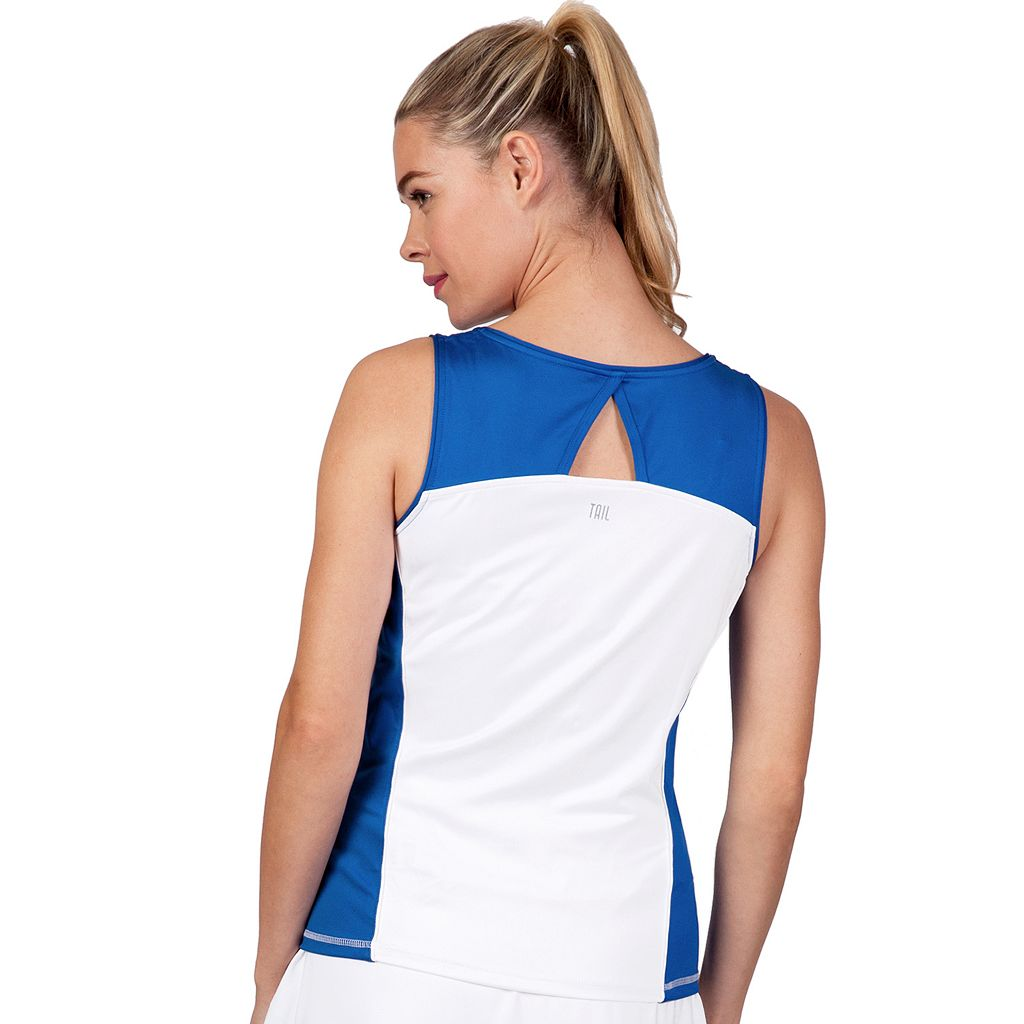 Women's Tail Starlight Charm Everly V-Neck Tennis Tank