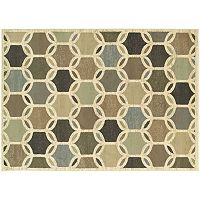 StyleHaven Brenna Geometric Circles Rug
