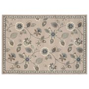 StyleHaven Brenna Stone Floral Rug