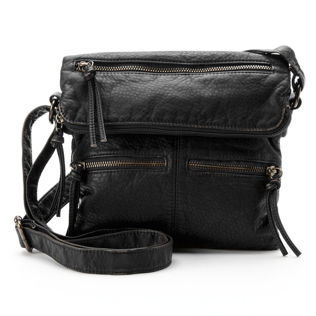 SONOMA Goods for Life™ Dallas Flap Crossbody Bag
