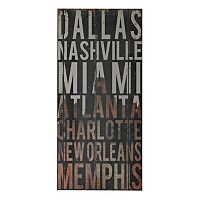 Sterling ''American Cities III'' Wall Art