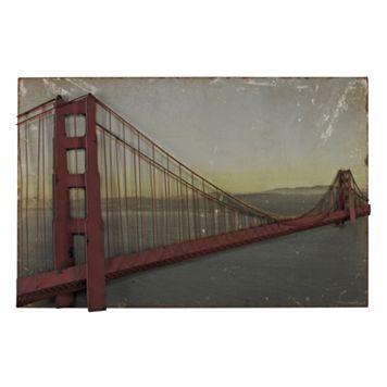 Sterling ''Golden Gate Bridge'' Wall Art