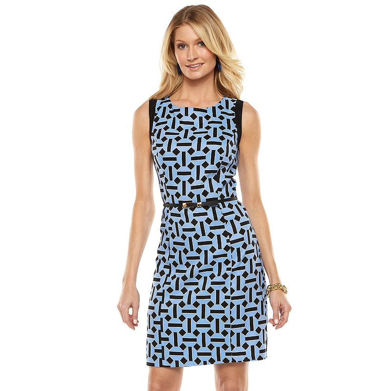 ab studio print sheath dress women s size by ab studio 5 0 reviews