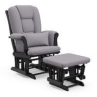 Stork Craft Tuscany Custom Glider Chair and Ottoman Set