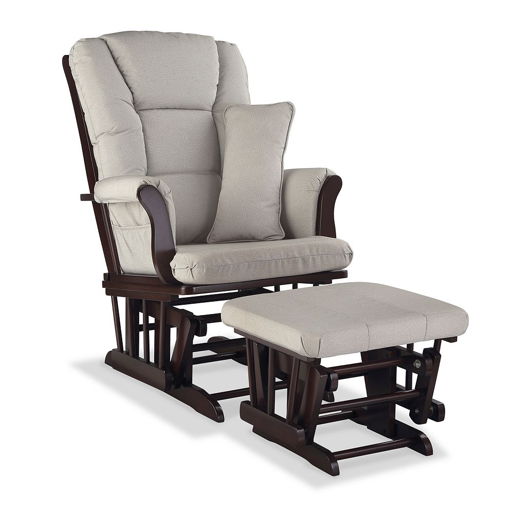 Stork Craft Tuscany Custom Glider Chair and Ottoman Set - Craft Tuscany Custom Glider Chair And Ottoman Set