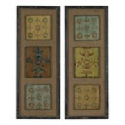 Sterling 2-piece ''Aughton'' Spanish Metal Wall Art Set