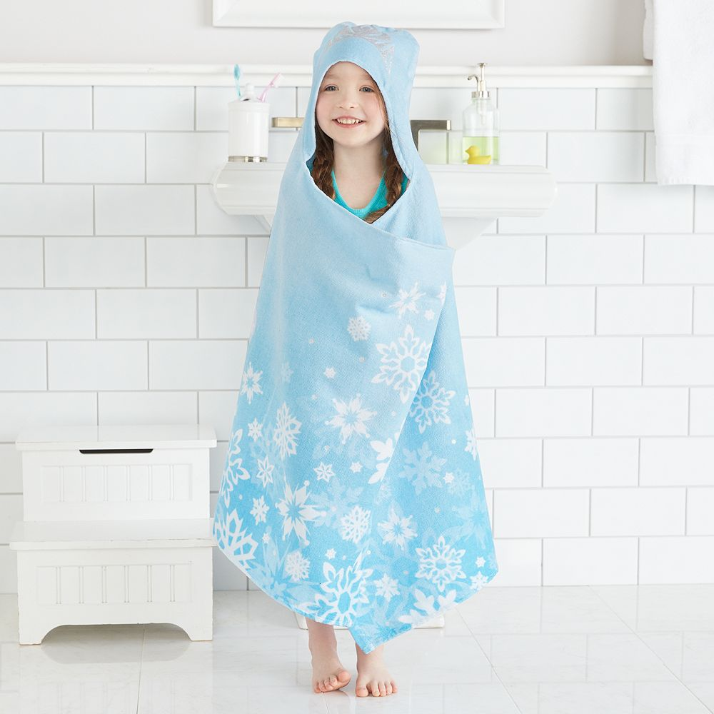 Disney\'s Frozen Elsa Hooded Bath Wrap by Jumping Beans®