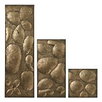 Sterling 3 pc ''Ramsey'' Metal Wall Decor Set