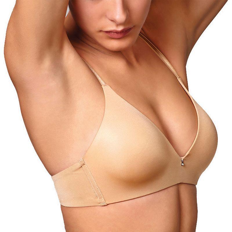 Montelle Intimates Bra: Wire-Free Convertible Full-Figure T-Shirt Bra 9017 - Women's