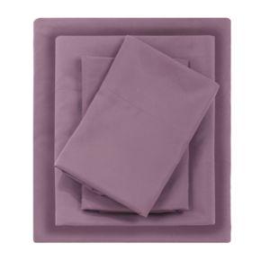 Madison Park Essentials Micro Splendor Solid Sheets